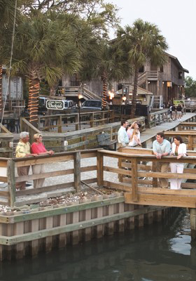 Murrell's Inlet Restaurant Row